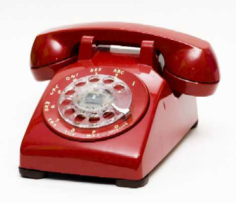 THE BIG RED PHONE